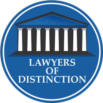 lawyers of distinction, Lawyer of the year for personal injury