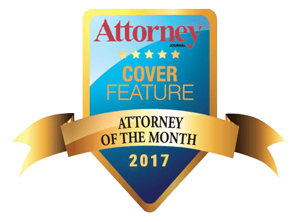 Attorney Cover Feature Attorney of the Month 2017 Logo